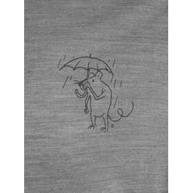 Klättermusen Eir Rain LS Tee Herre Grey Melange
